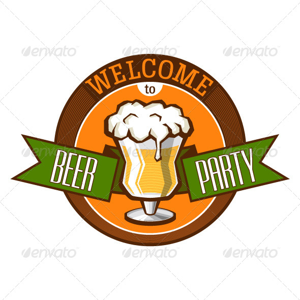 GraphicRiver Invitation to Beer Party 4649489