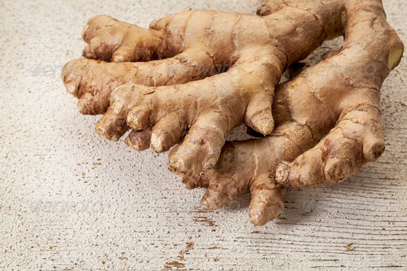 ginger root - Stock Photo - Images