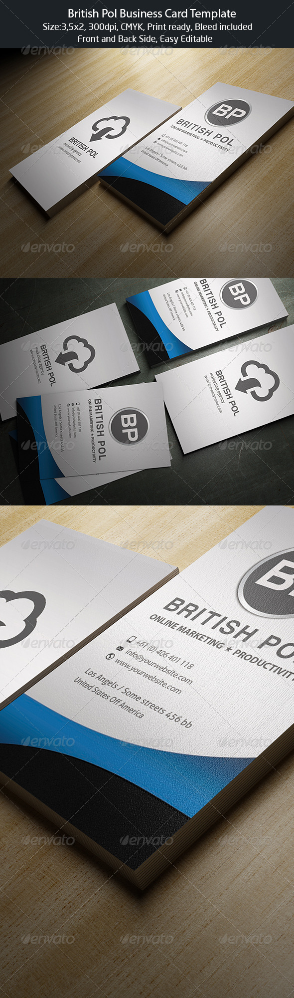 GraphicRiver British Pol Business Card 4649869