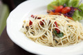 Spaghetti with bacon and mussel - PhotoDune Item for Sale