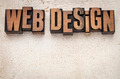 web design in wood type - PhotoDune Item for Sale