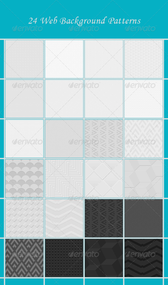 GraphicRiver 24 Web Background Patterns 4652675