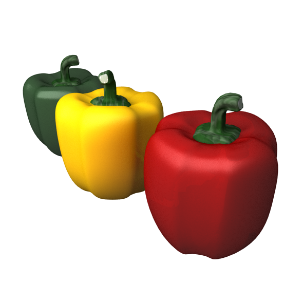 3DOcean Bell Pepper 4652699