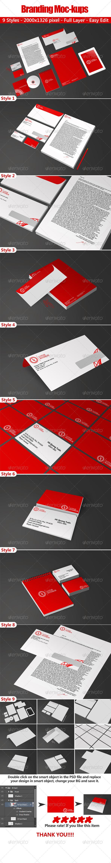 GraphicRiver Branding Mockups 4653264