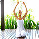 Woman Doing Yoga Exercises - VideoHive Item for Sale