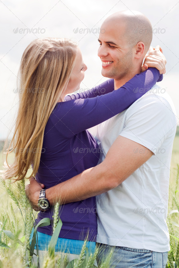 Embracing couple Stock Photo by mediatail PhotoDune