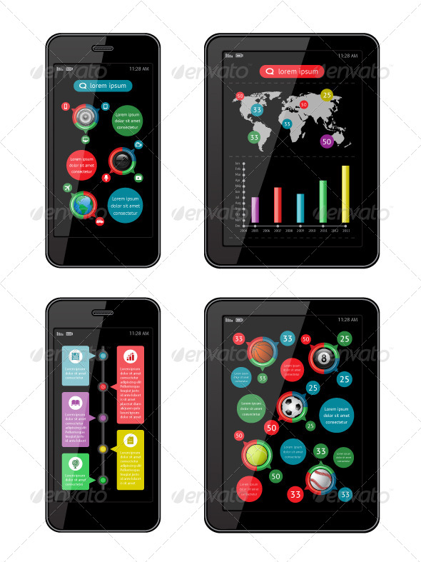 GraphicRiver Isolated Gadgets 4653522