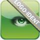 Glitchy Elegant Logo
