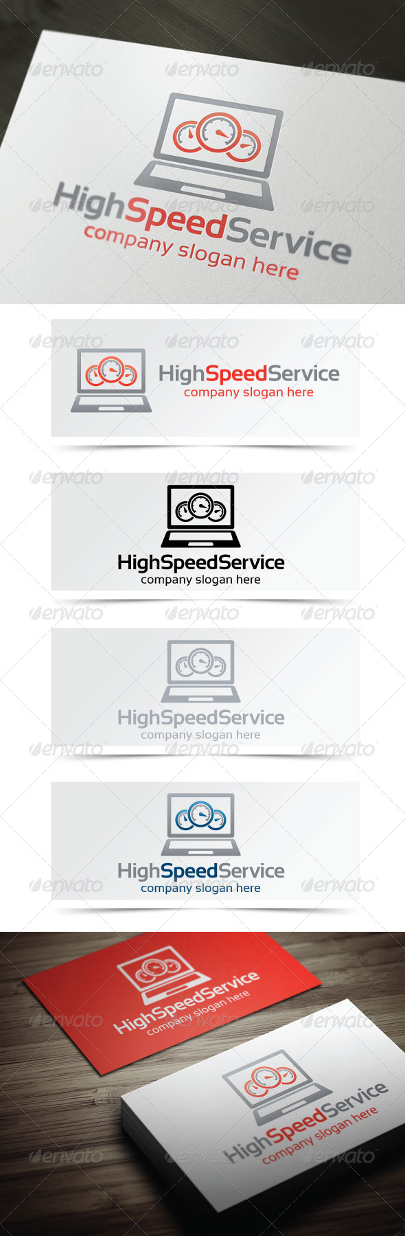 GraphicRiver High Speed Service 4654378