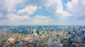 View of Bangkok City with clouds - PhotoDune Item for Sale