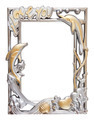 flower silver and gold frame - PhotoDune Item for Sale