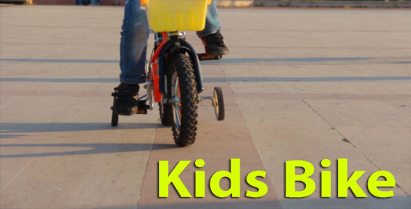 VideoHive Kids Bike 4654805