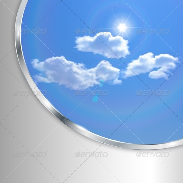 Abstract Background With Sky - Nature Conceptual