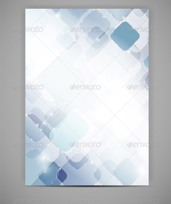 GraphicRiver Business Blank Template Vector Illustration 4655416