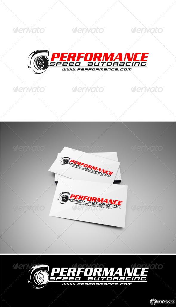 GraphicRiver performance autoracing logo templates 4533483