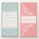 Set of Wedding Invitations. - GraphicRiver Item for Sale