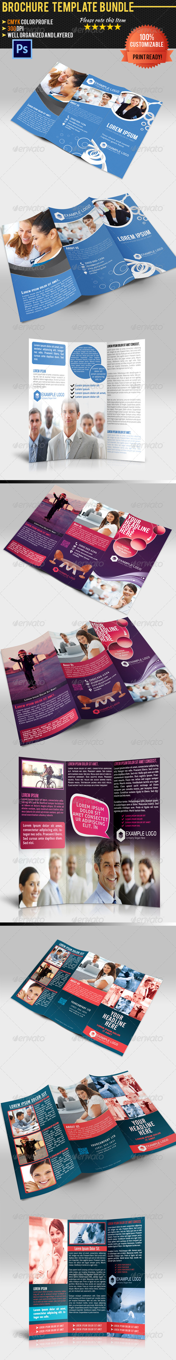 GraphicRiver Tri-Fold Corporate Business Brochure Bundle 01 4656155