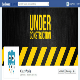 Under Construction Facebook Cover Design - GraphicRiver Item for Sale