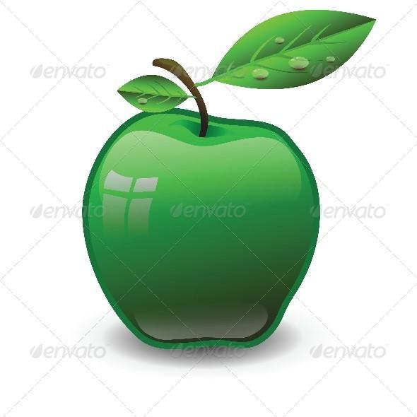 GraphicRiver Green Apple 4657477