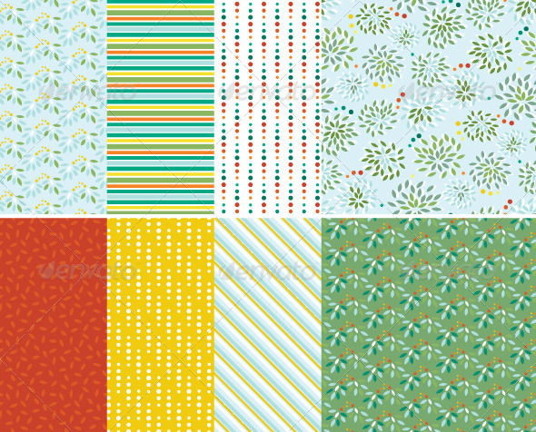 GraphicRiver Abstract Seamless Patterns 4657643