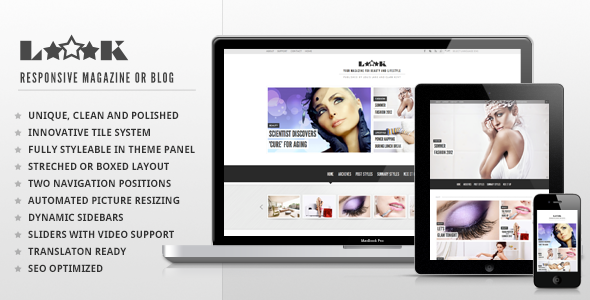 Loook - Responsive Magazine or Blog
