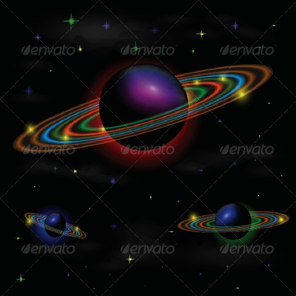 GraphicRiver Space Background 4658030