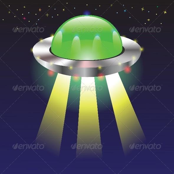 GraphicRiver Spaceship 4658123