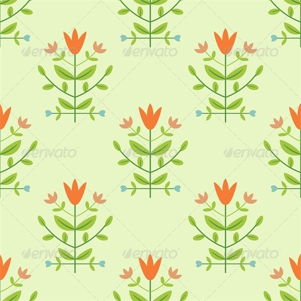 GraphicRiver Floral Pattern 4658349