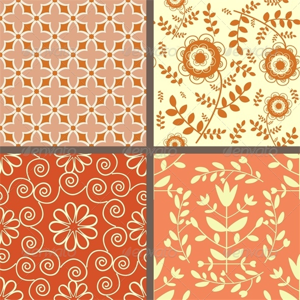 GraphicRiver Seamless Patterns Set 4658924