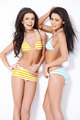 Two smiling girls in swimsuits - PhotoDune Item for Sale