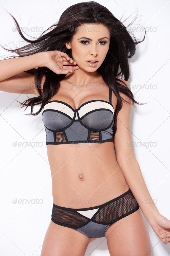 Hot woman in sexy lingerie - Stock Photo - Images