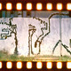 Aged street wall background. Film strip - PhotoDune Item for Sale