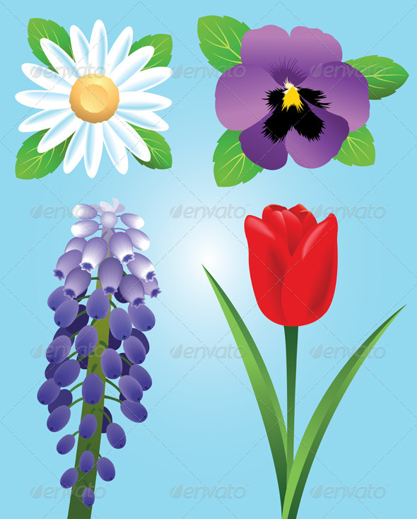 GraphicRiver Spring Flowers 4659652