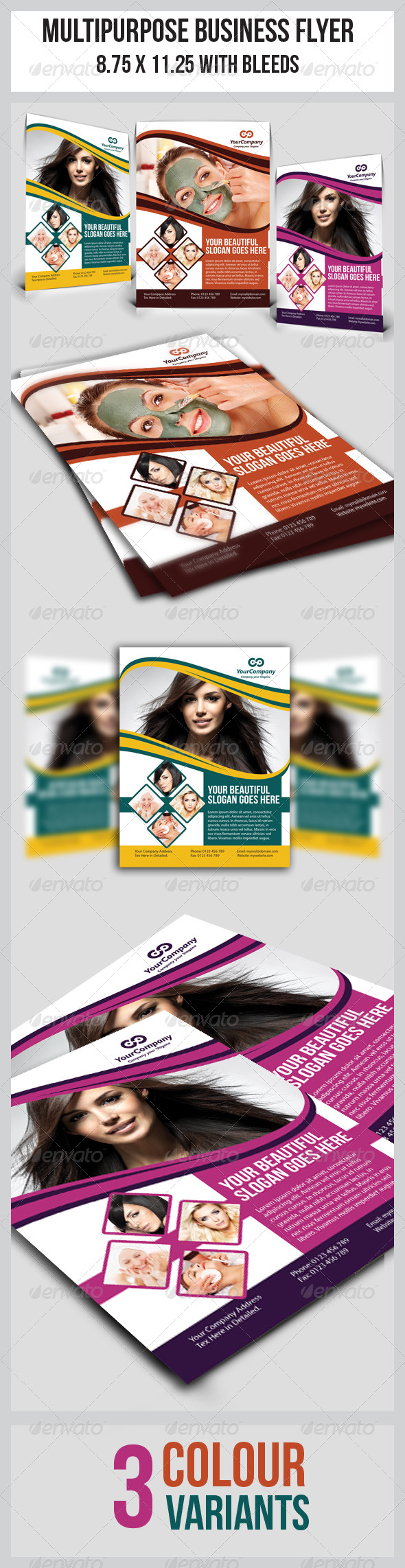 Multipurpose Business Flyer - Flyers Print Templates