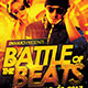 Battle of The Beats: Event Flyer Template - GraphicRiver Item for Sale