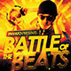 Battle of the Beats: CD Artwork Template - GraphicRiver Item for Sale