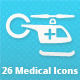 26 Medical Icons - GraphicRiver Item for Sale