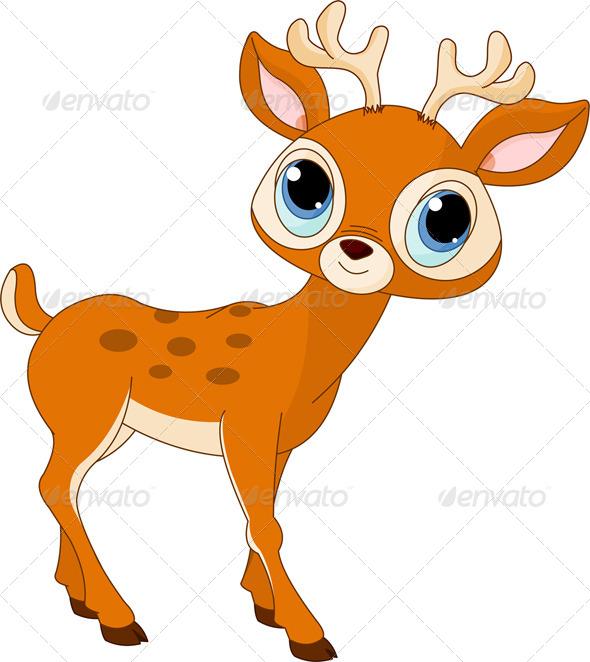 GraphicRiver Cartoon Deer 4660600
