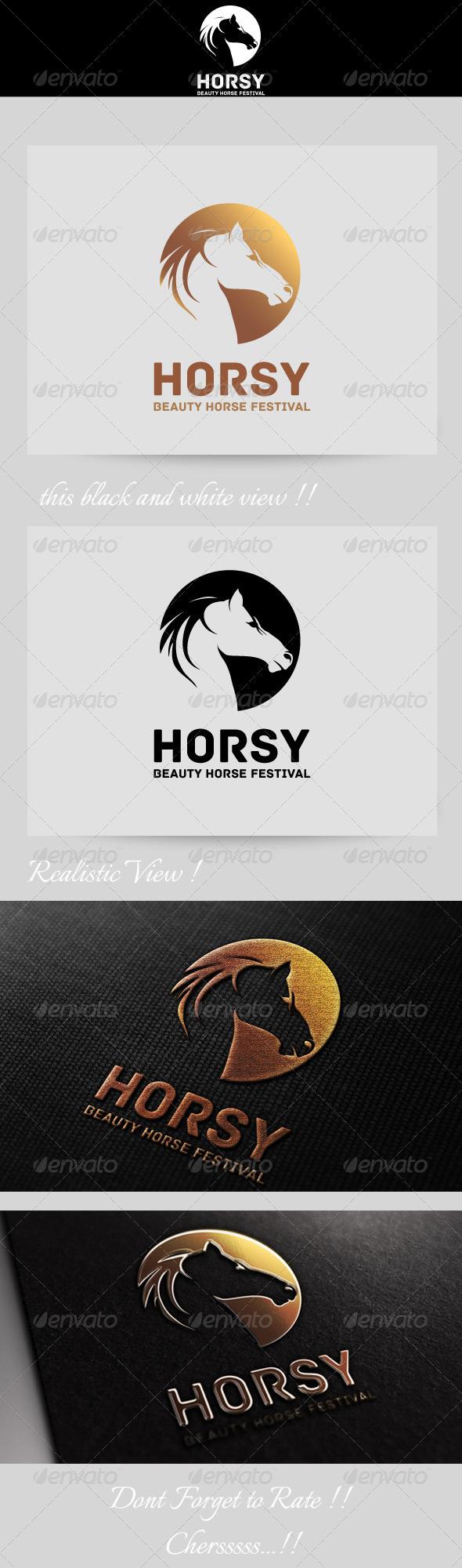 GraphicRiver Horse Festival Logo 4632524