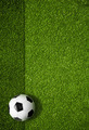 soccer field and ball top view background - PhotoDune Item for Sale