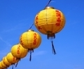 Yellow Chinese Lanterns - PhotoDune Item for Sale