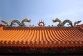 Decorated Chinese Temple Roof - PhotoDune Item for Sale