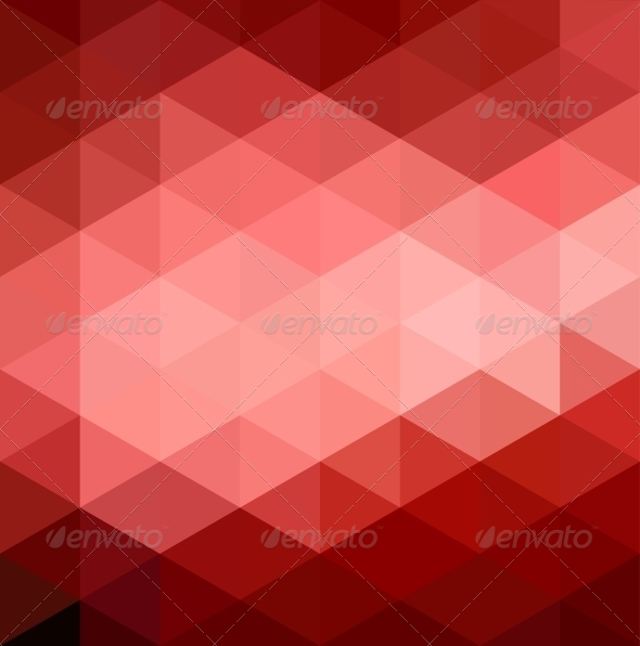 GraphicRiver Abstract Red Geometrical Background 4661765
