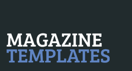 Magazine Templates