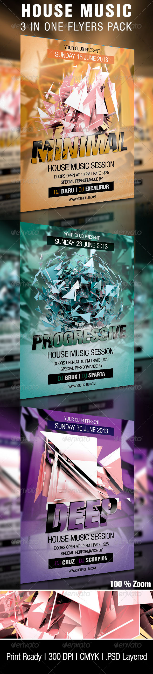 GraphicRiver House Music Sessions Party 4502812