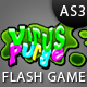 Virus Purge Flash Game - ActiveDen Item for Sale