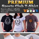 Premium Sport Club T-Shirt Template - GraphicRiver Item for Sale