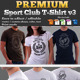 Premium Sport Club T-Shirt V3 Template - GraphicRiver Item for Sale