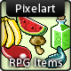 RPG Game Items Consumables - GraphicRiver Item for Sale