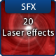 20 8bit Laser Sound Effects